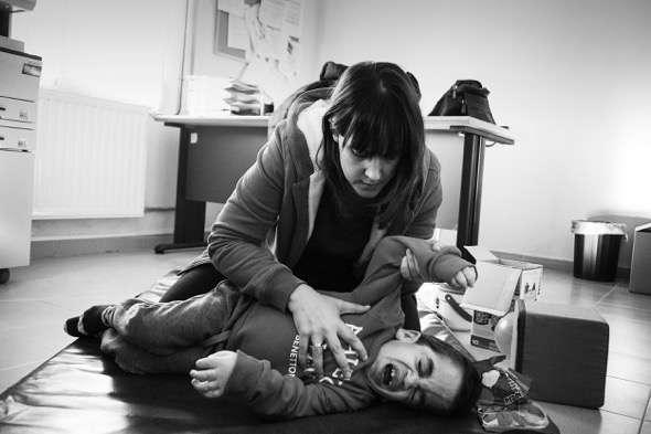 Fotografía de César Pastor, primer finalista del Premio Luis Valtueña por el reportaje 'Hurler, la ecuación del gran Utrilla' que trata de poner el acento sobre las enfermedades raras.