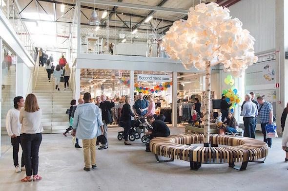 El centro comercial Retuna de Suecia. Foto: Retuna.