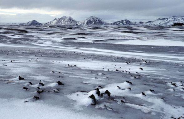 El frío extremo habita en los paisajes del norte. Foto: Andoni Canela.