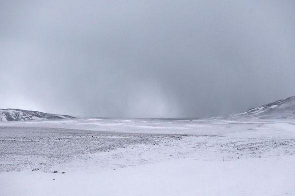 De repente, la nada. Paisajes minimalistas en Islandia. Foto: Andoni Canela.