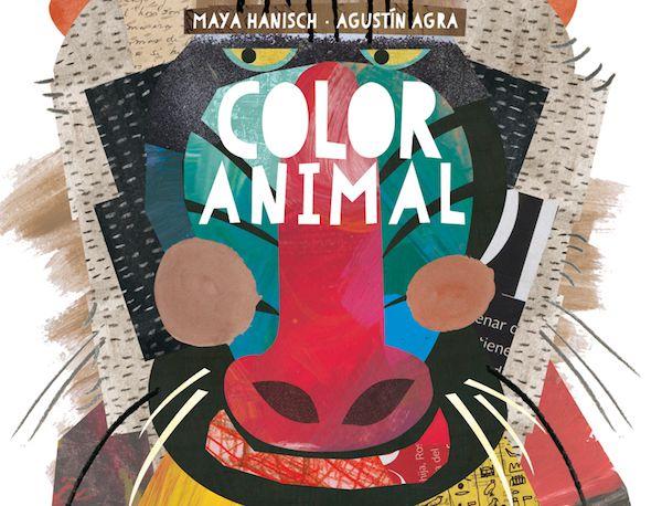 Detalle de la portada de Color animal, de Agustín Agra y Maya Hanisch. Editorial Kalandraka.