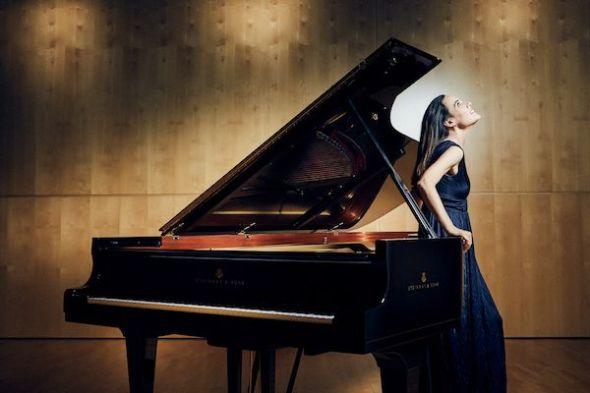 La pianista María Parra. Foto: Michal Novak.