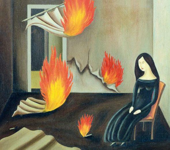 Detalle de la cubierta de 'El coleccionista de libros' de Alice Thomson en la edición de Siruela.