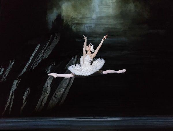 La bailarina Marianela Nuñez en el papel de Odette en la nueva versión de El lago de los cisnes del Royal Ballet. Foto: Bill Cooper.