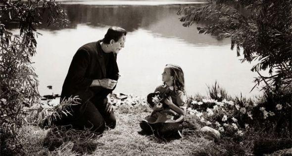 Un fotograma de 'El doctor Frankenstein' de James Whale.
