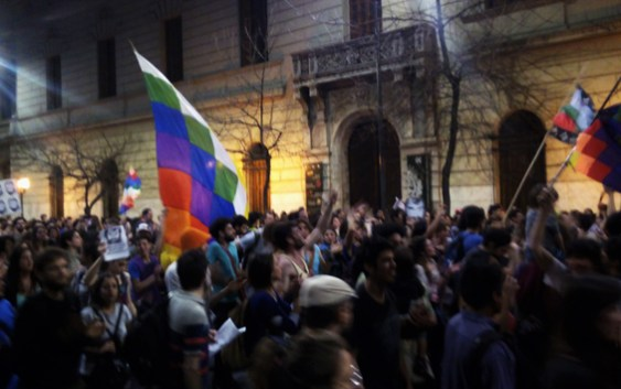 Masiva movilización por la Aparición con vida de Santiago Maldonado