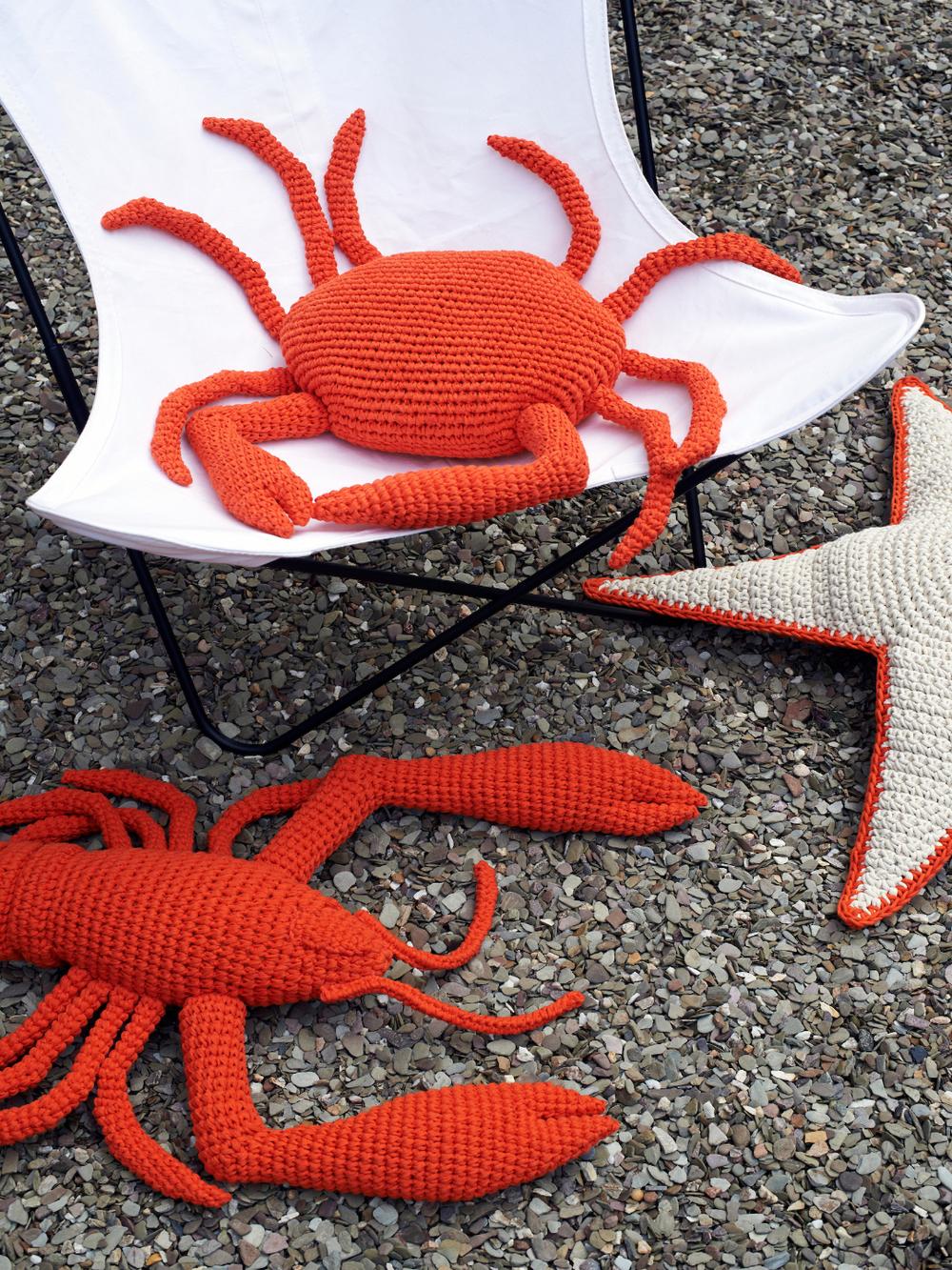 Langostas de crochet de Anne-Claire Petit