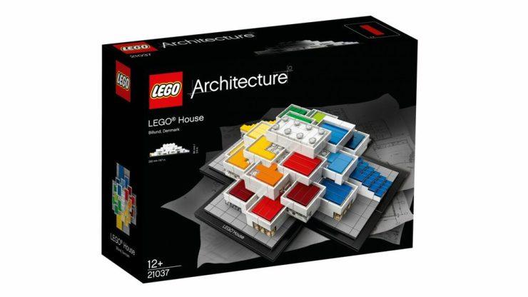 Lego House. Casa Lego foto juego colección Architecture