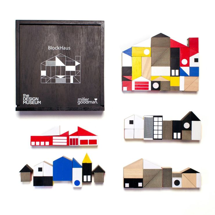 BlockHaus Miller Goodman juego construcción madera Bauhaus