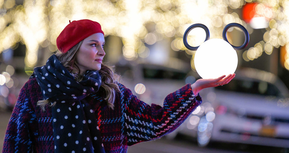 Lámpara portátil recargable Mickey Mouse de Fermob