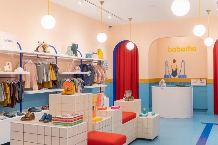 Babama kids concept store para niños en Letonia