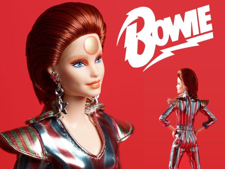 Barbie Bowie Ziggy Stardust