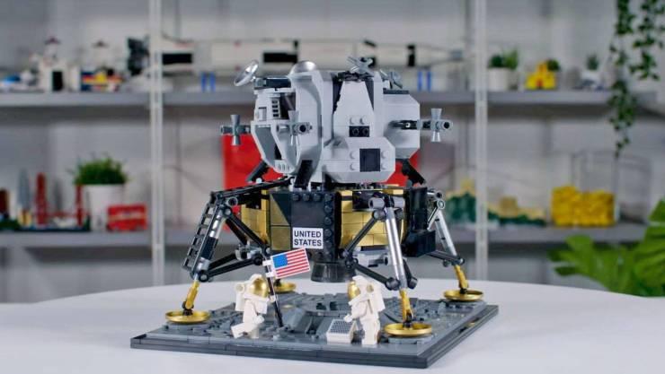 Módulo lunar Creator Expert NASA Apollo 11 Lunar Lander LEGO