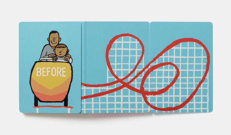 Libros infantiles. Antes y Después. Jean Jullien. Combel. Elástica magazine