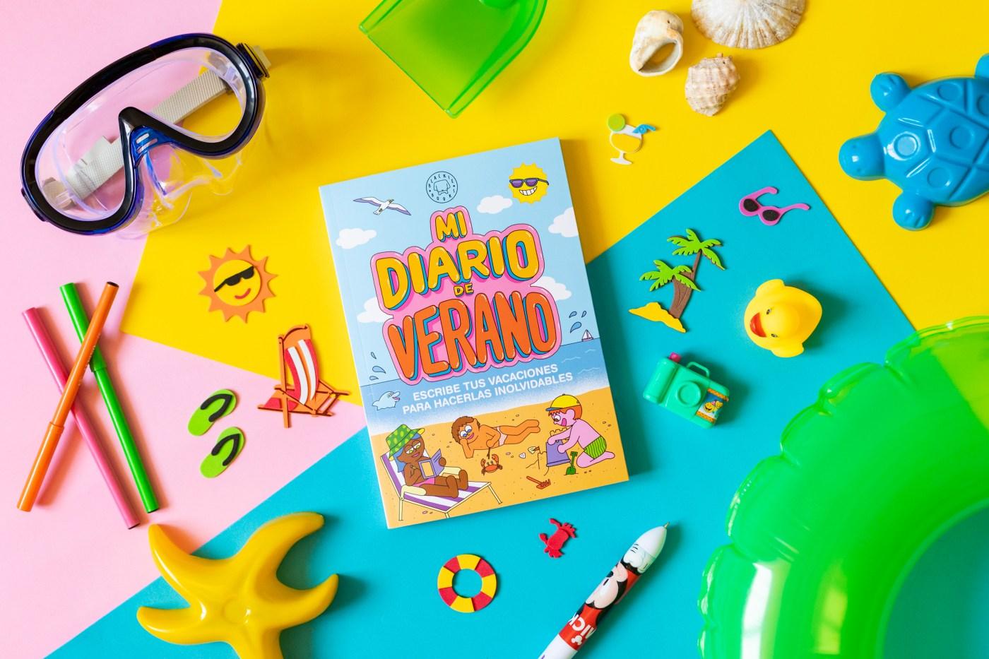 Mi diario de verano. Blackie Books. Cuaderno para niños. Elástica magazine