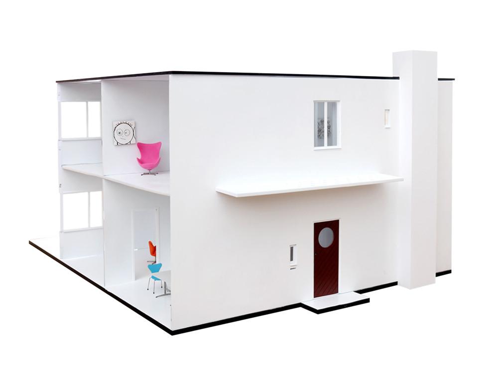 casa de muñecas Arne Jacobsen