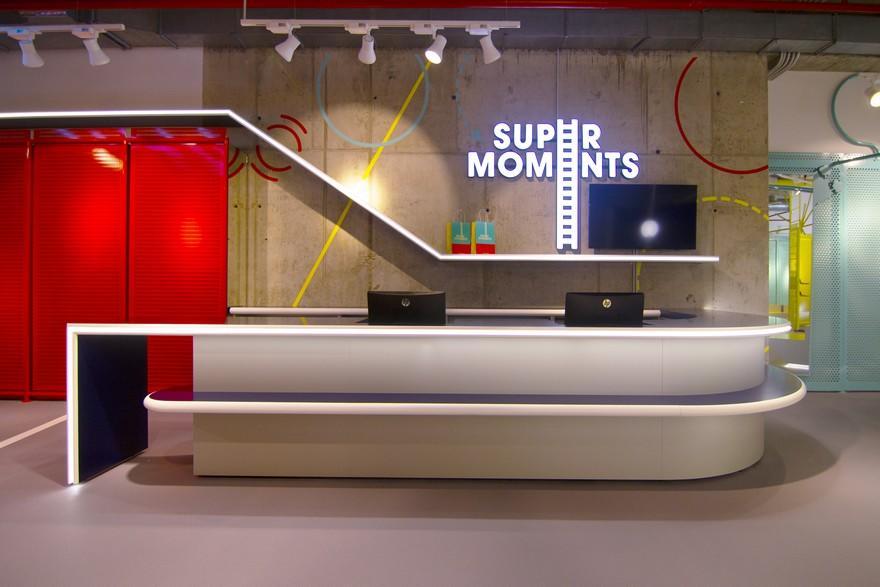 Mostrador tienda infantil SuperMoments