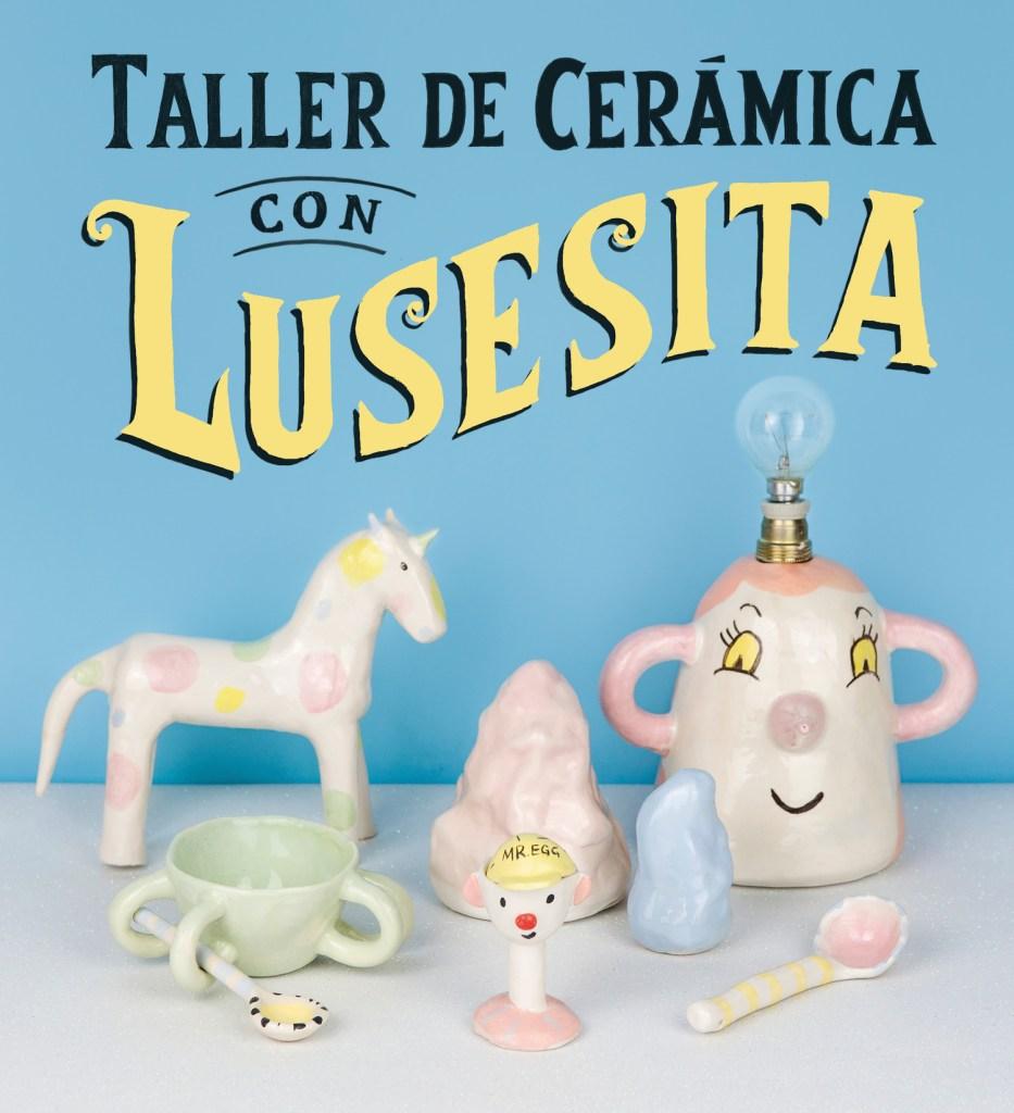 Taller de cerámica con Lusesita portada libro