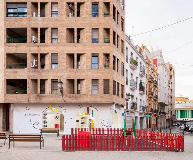 Little Stories Concept Store ara niños en Valencia. Proyecto de Clap Studio.