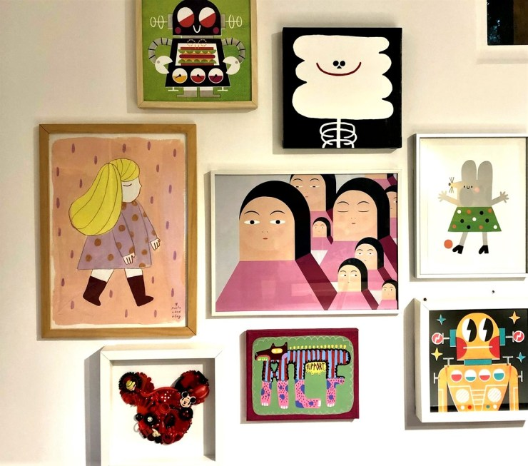 Art Wall. Superpoderes del arte. Extraescolares arte contemporáneo en Barcelona