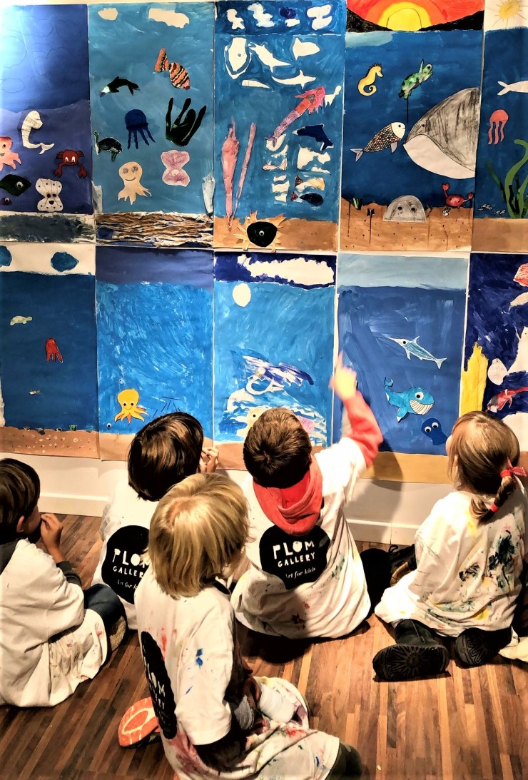 Superpoderes del arte. Extraescolares arte contemporáneo en Barcelona