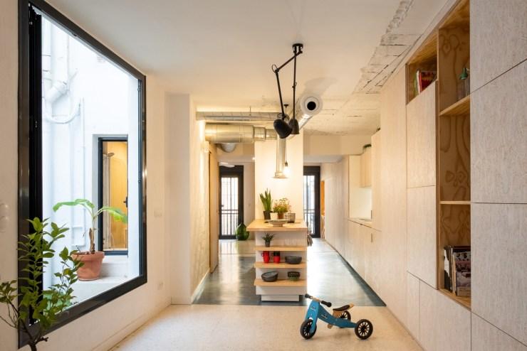 HOMEPING. Gyra Architects. Sevilla. Salón
