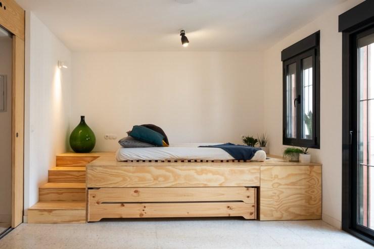 HOMEPING. Gyra Architects.  Cama