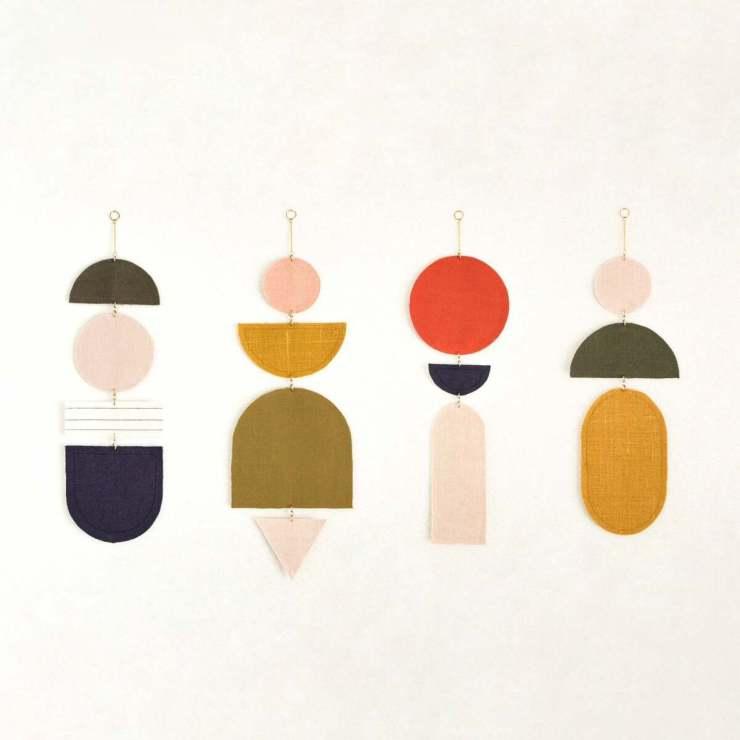 Móvil Decorativo de Diseño. Shapes. Minipicnic