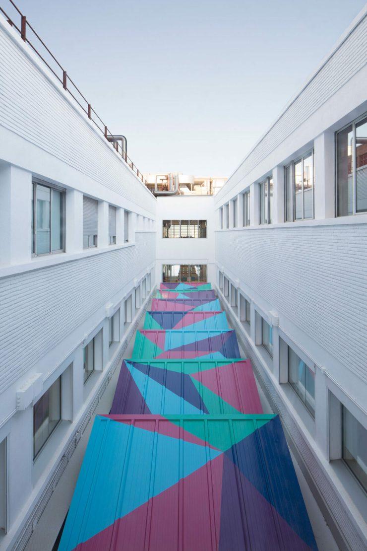 Rai Pinto. Ambientación y diseño interior Hospital Sant Joan de Déu. TPH