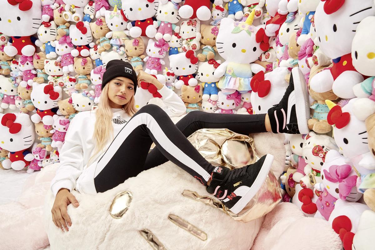 Puma x Hello Kitty. 45 aniversario 2019