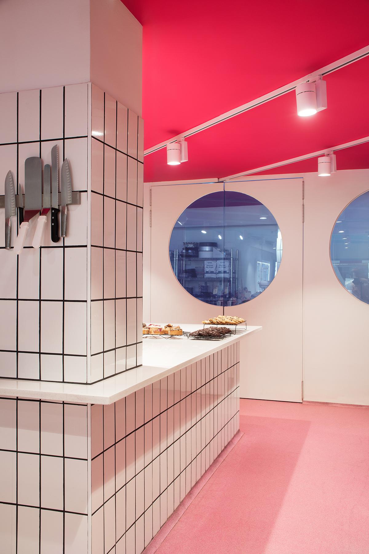 Petit Pastís. Pastelería años 50 en Barcelona. Diseño Marc Duran