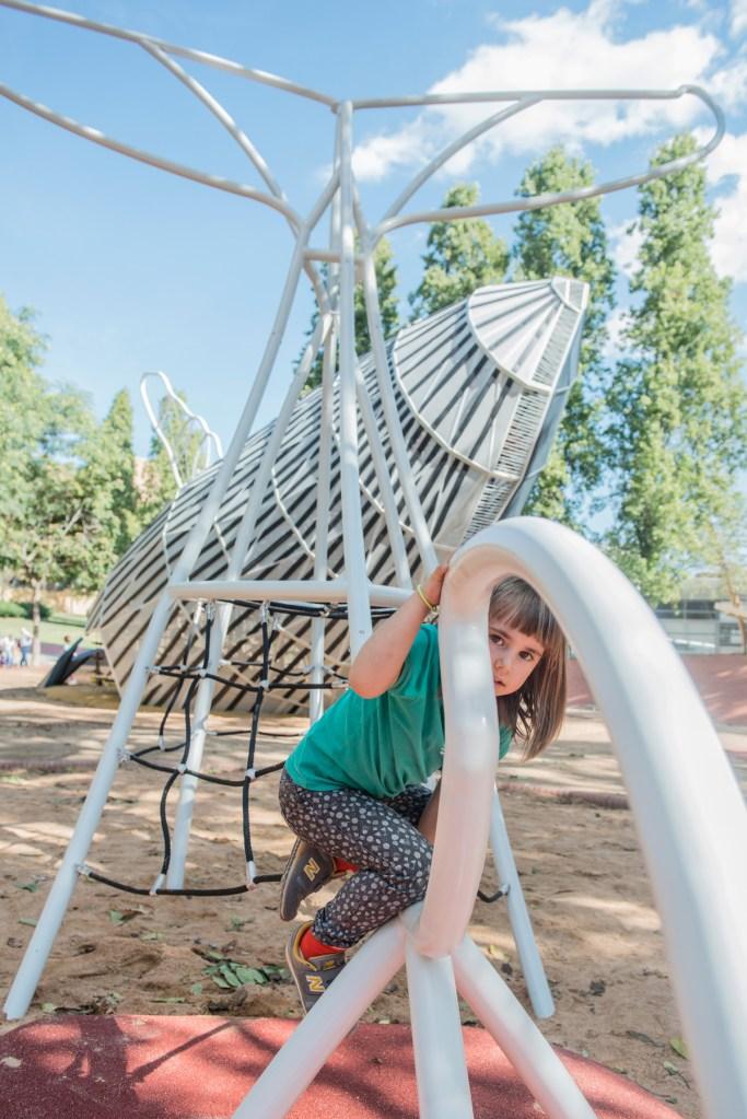 La Balena. Parc Central de Nou Barris, Barcelona. Disseny Queralt Suau.