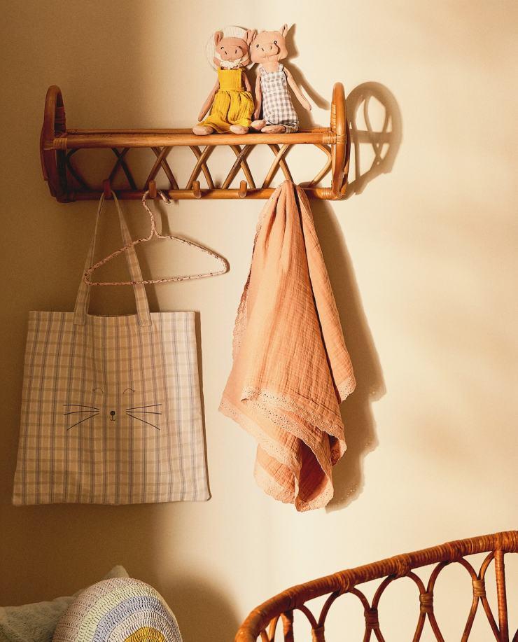Zara Home. Accesorios de bamb