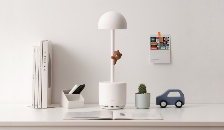 Clova Smart Reading Lamp. Red Dot Design Award 2020