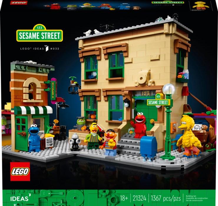 Lego Barrio Sésamo