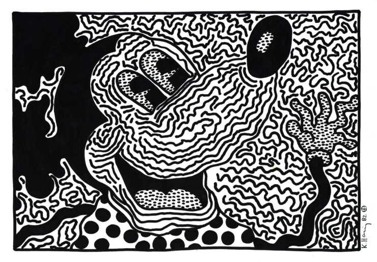 keith haring mickey mouse