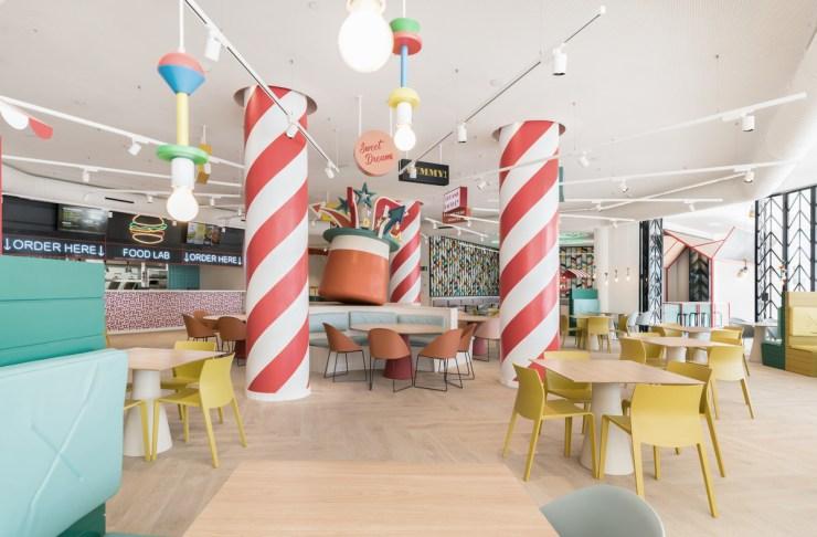 Dreams Factory restaurante familiar en Bahía Príncipe Fantasía Tenerife, diseñado por Estudihac