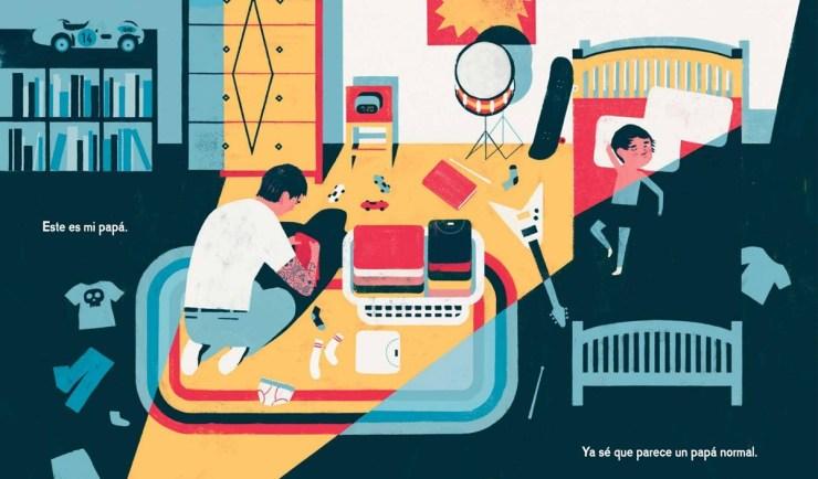 """Libros Día del padre. """"Mi papá ¡Antes era genial!"""", Keith Negley, Editorial Monsa"""