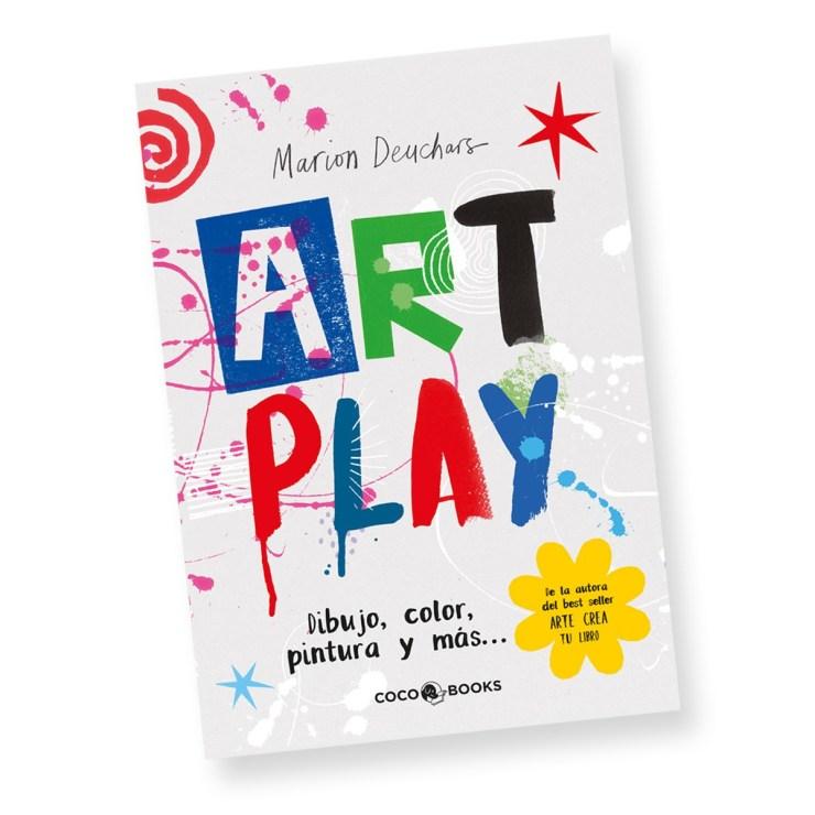 """""""Art Play. Dibujo, color, pintura y más…"""", Marion Deuchars, Coco Books. Sant Jordi"""