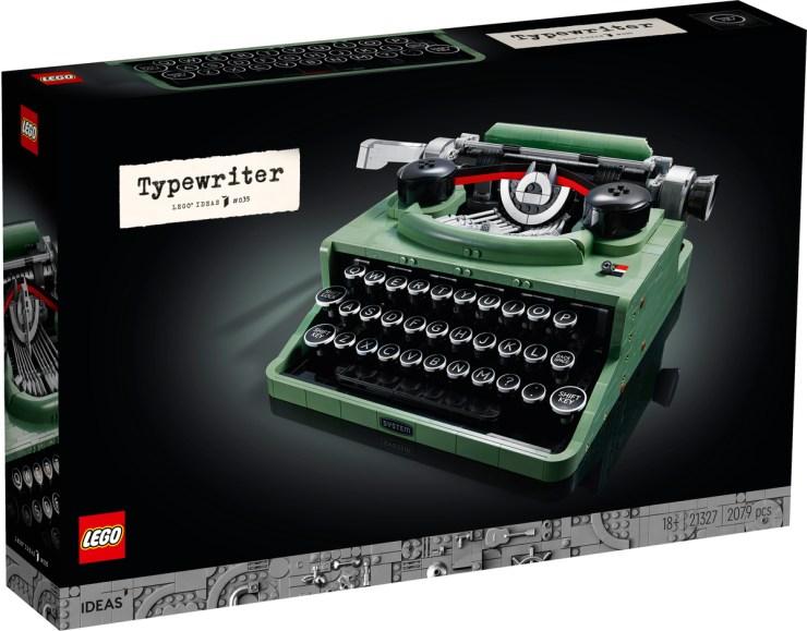 máquina de escribir LEGO®