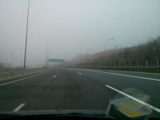 Ομίχλη στα Τέμπη