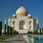 Dicas dos Viajantes –    Taj Mahal em Agra, na Índia.