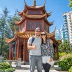 Jardim Chinês da Amizade em Darling Harbour, Sydney.