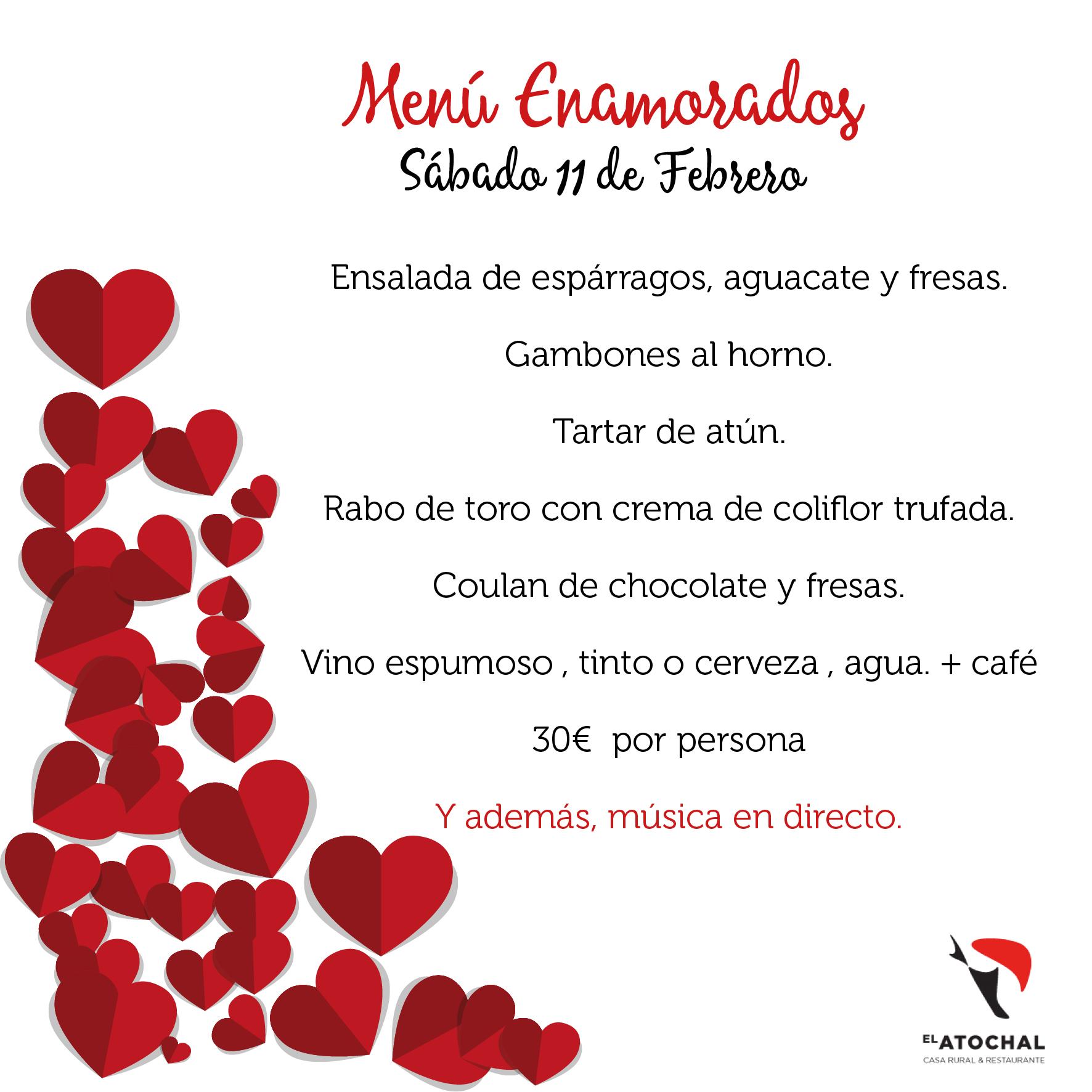 MENU_enamorados el atochal toeledo san valentin