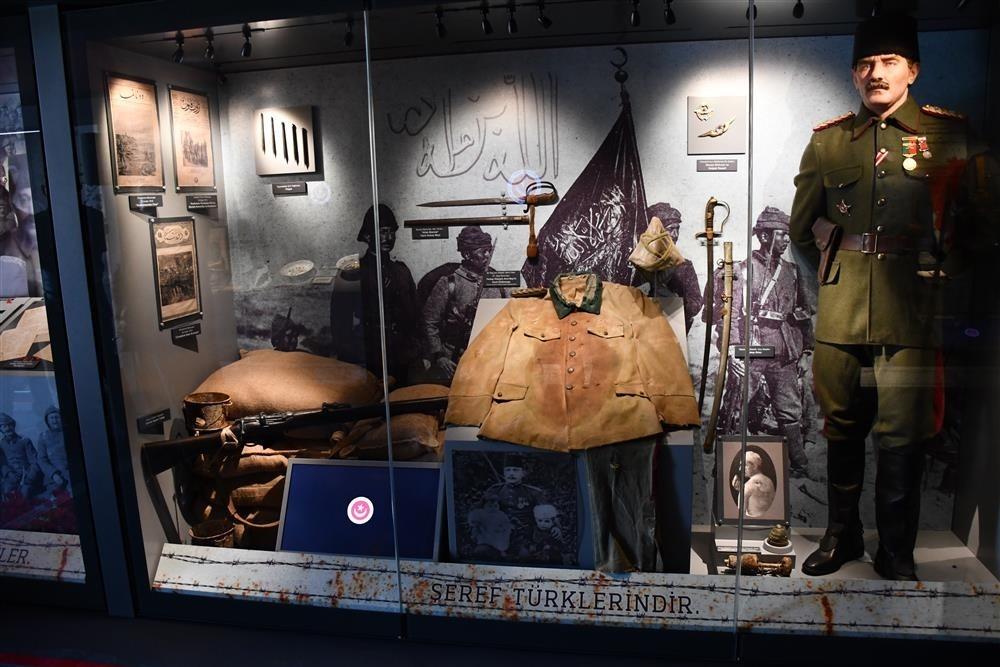 Çanakkale Muharebeleri Mobil Müzesi 2 gün Elazığ'da olacak