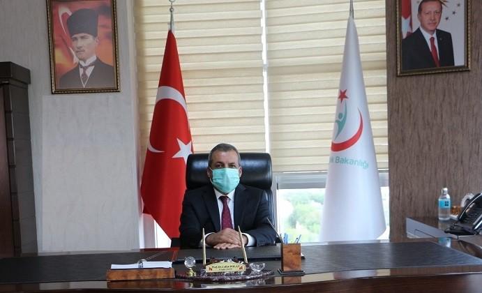 Elazığ'da huzurevi sakinleri ile 90 yaş üstüne aşı uygulaması başladı