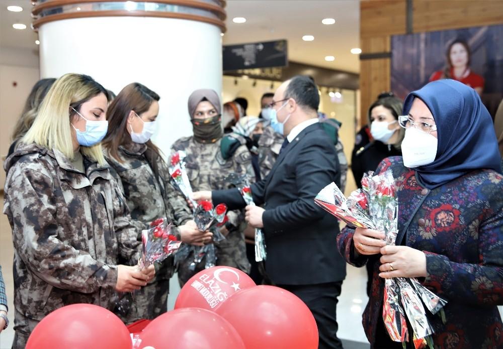 Elazığ'da 8 Mart Dünya Kadınlar Günü etkinliği