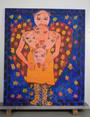 the Guardian Angel 72(in) x 60(in) 2002 Collection of Family