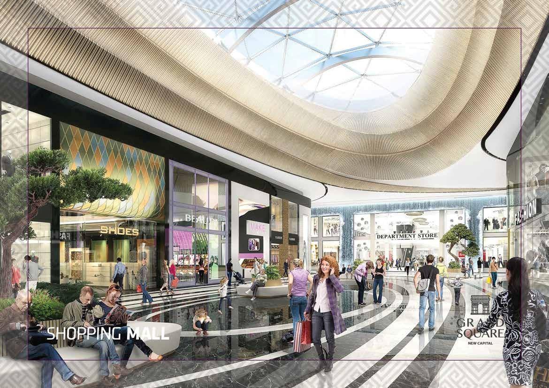 جراند سكوير مول العاصمة الادارية | شركة بيراميدز | Grand Square Mall
