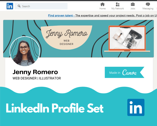 Canva Template for LinkedIn